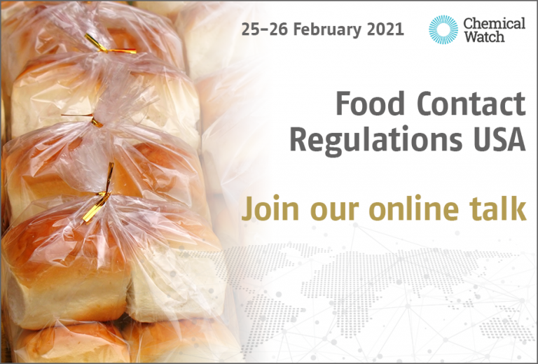 Food Contact Regulations USA 2021 - Join our talk