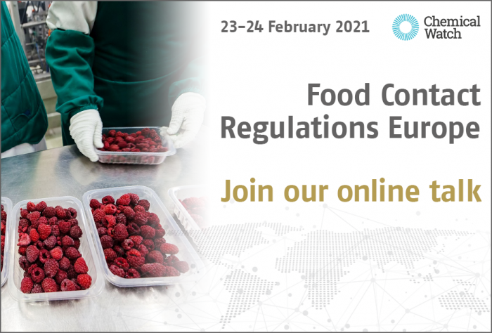 Food Contact Regulations Europe 2021 - Join our talk