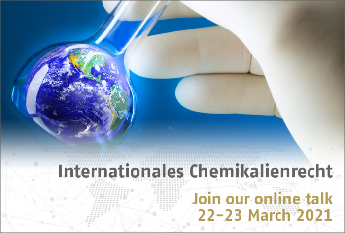 Internationales Chemikalienrecht