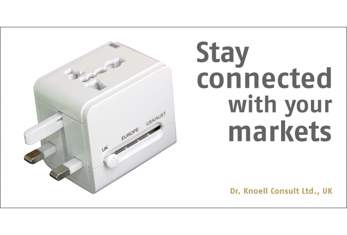 Stay connected with your markets