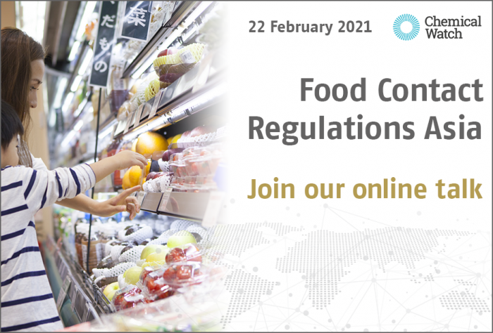Food Contact Regulations Asia 2021 - Join our talk!
